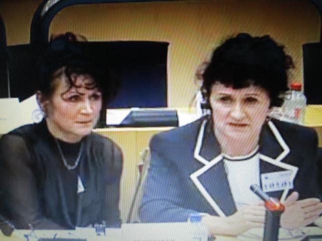 T.Wojda i M.Bejda w PE w Brukseli