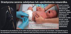 Drastyczne foto o przymusie szczepionkowym