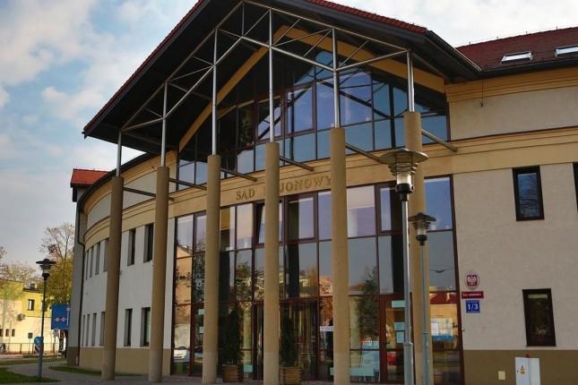 Gmach sądu w Lowiczu