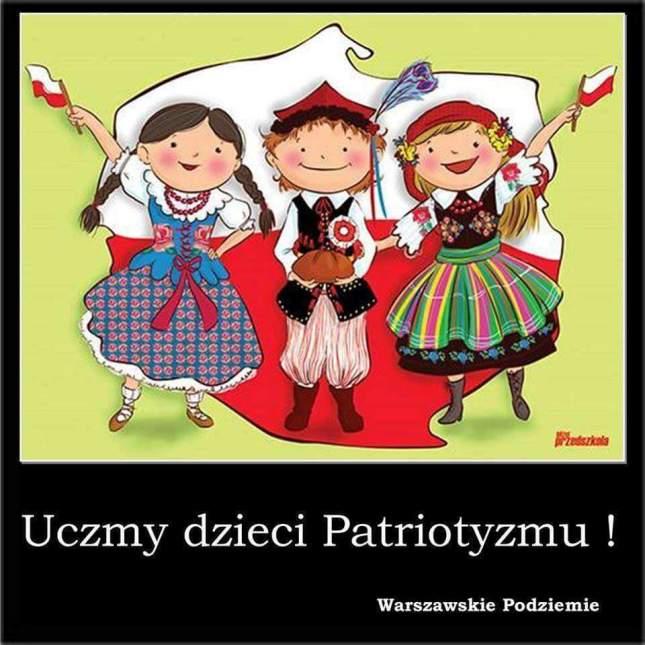 Uczmy dzieci patriotyzmu ! grafika