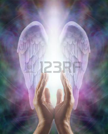 mężczyzna-ręce-sięgające-w-piękną-parę-bzu-angel-wings-z-białym-światłem