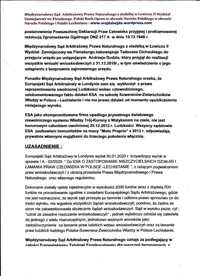 Wyrok MSAPN z 15.02.2020r str 3
